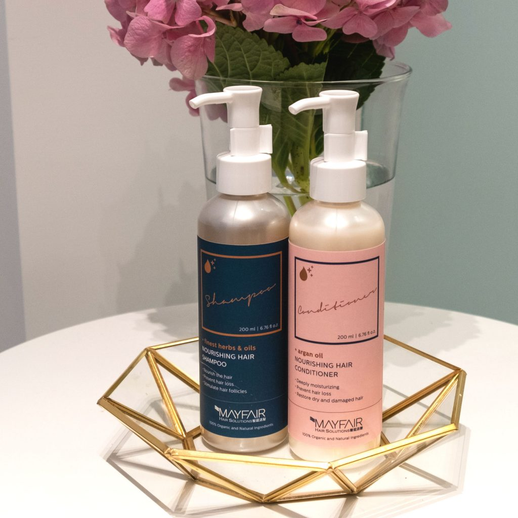 Mayfair Hair Solutions Nourishing Shampoo Conditioner