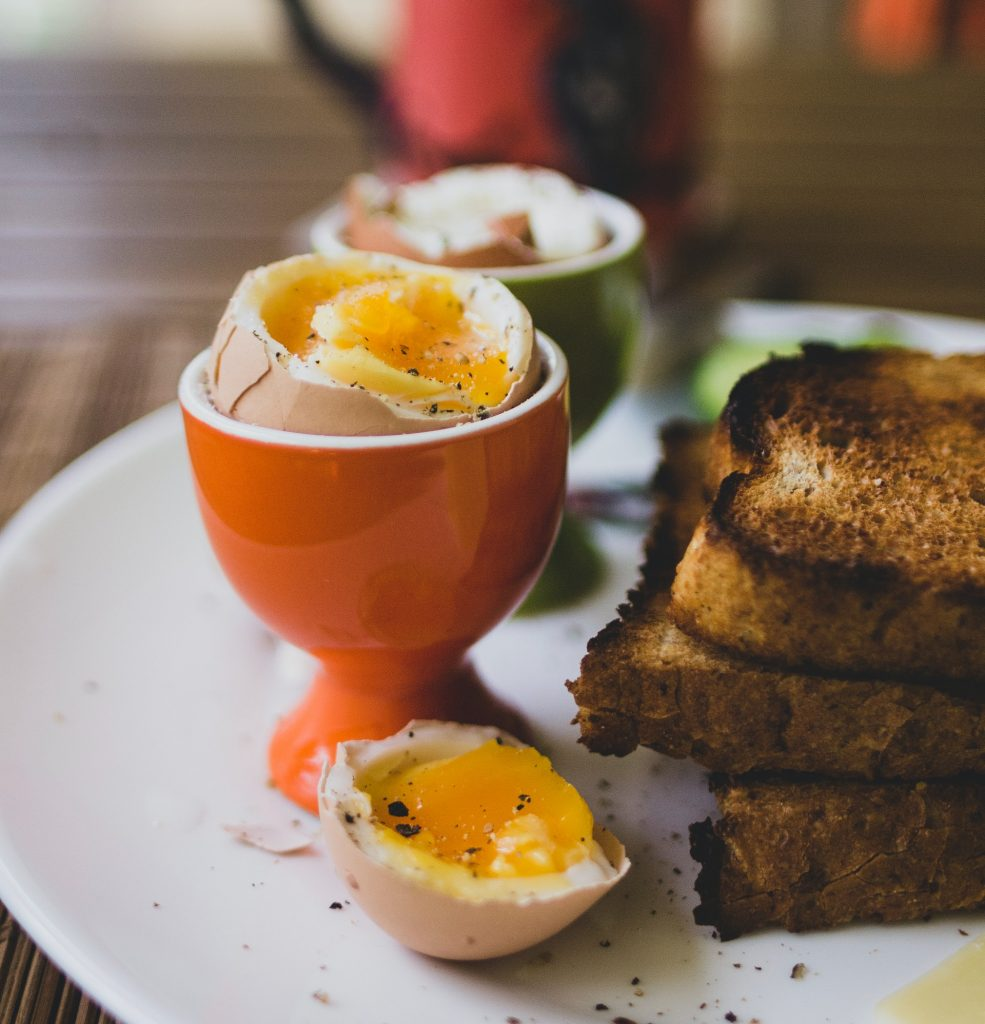 Eggs protein for hair growth